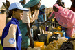 UN Peacekeeper Speaks with Women Refugees in Chad 5.6120768