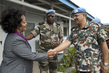 UNMIS Force Commander Meets Head of MONUC Office in North Kivu 4.3454247