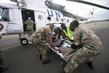MONUC Paramedics Evacuate Massacre Victim 4.5198283