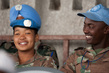 MONUC's Female Blue Helmets Play Football on Peacekeepers Day 4.03779