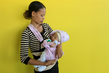 Mother and Newborn in Suai, Timor-Leste 10.593185