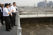 Secretary-General Visits Sewage Treatment Plant in Xi'an 4.6234655