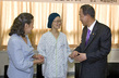 Secretary-General Meets Make-A-Wish Foundation Patient 10.02386