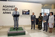 "UN Communications Chief Speaks at Opening of ""Against Nuclear Arms"" Exhibition 13.673459"