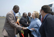 US Secretary of State Meets Eastern Coordinator of MONUC in Goma 4.3335543