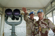 UNTSO Commander visits Post in Golan Heights 4.890737