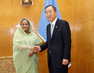Secretary-General Meets Prime Minister of Bangladesh 1.0717281