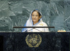 Prime Minister of Bangladesh Addresses General Assembly 1.0734982