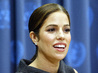 """Ugly Betty"" Cast Member Addresses Press on Malaria Awareness 9.531537"