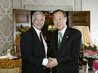 Secretary-General Meets MacArthur Foundation President 1.1675806