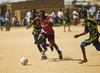 Sudanese Men Play Football for 'End Violence against Women' Campaign 7.245403