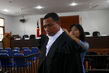 Timorese Judges Prepare for Swearing-in Ceremony 16.357056