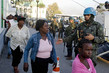 UN Peacekeepers Distribute Water and Food in Haiti 1.223207