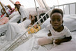 Child Amputee in Recovery at Jacmel, Haiti, Hospital 1.2373487