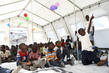 "UNICEF and Danish Red Cross Introduce ""School in a Box"" in Haiti IDP Camp 7.459708"