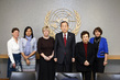 Secretary-General Meets Women Nobel Laureates 1.0