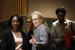 Actress Meryl Streep Attends UN Women's Event 10.049803