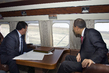 Secretary-General and Uzbek Prime Minister Ride Helicopter over Aral Sea 1.0