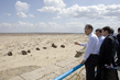 Secretary-General Visits Uzbek Town Affected by Recession of Aral Sea 1.0