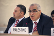 Palestinian Permanent Observer Responds to Report by Human Rights Rapporteur 1.353874
