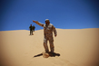 MINURSO Team Monitors Ceasefire in Western Sahara 4.815114