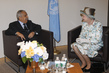 General Assembly President Meets Queen Elizabeth II of United Kingdom 0.89053214