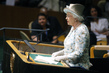 Queen Elizabeth II of United Kingdom Addresses General Assembly 0.8247464