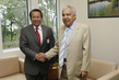 General Assembly President Meets Foreign Minister of Malaysia 0.8608089