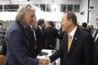Secretary-General Meets Activist Bob Geldof at MDG Advocacy Meeting 9.52781