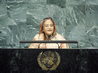 Prime Minister of Bangladesh Addresses MDG Summit 0.9408446