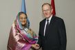 General Assembly President Meets Prime Minister of Bangladesh 1.0735631