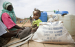 Displaced Sudanese at Shangil Tobaya Camp, North Darfur 1.9392116