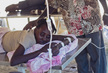 Woman with Cholera Receives Treatment in L'Estere, Haiti 1.2373487