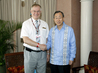 Secretary-General Meets Head of WMO at Cancun Climate Change Summit 1.7249715