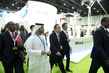 Secretary-General Tours Exhibits at World Energy Summit in Abu Dhabi 4.6121025