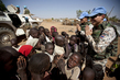 UNAMID Peacekeepers Work in West Darfur Refugee Camp 6.2041407