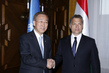 Secretary-General Meets Hungarian Prime Minister in Budapest 1.0