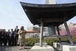 25th Anniversary of Chernobyl Marked with Peace Bell Ceremony 1.6069121