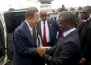 Secretary-General in Côte d'Ivoire for Inauguration of President 2.077086