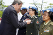 Peacekeeping Chief Awards Medals to Military and Police Officers at Medal Parade 1.0