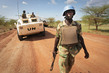 UN Peacekeepers on Patrol in Abyei 4.369895