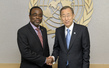Secretary-General Meets Executive Secretary of UN Convention to Combat Desertification 8.335381