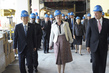 Queen Margrethe II of Denmark Visits Trusteeship Council Chamber 1.4296471
