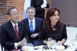 Secretary-General Attends Lunch Hosted by Argentinean President 4.2857556