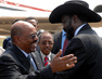 Presidents of Sudan and South Sudan Meet at Independence Ceremony 4.5000033
