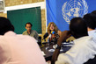 South Sudan Special Representative Gives First Press Conference 4.4827356