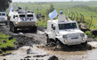 UNDOF Peacekeepers Patrol Golan Heights 4.93653