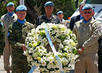 UN Peacekeepers' Day Observed in Golan Heights 4.936208