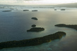 Aerial View of Marovo Lagoon, Solomon Islands 2.5870452