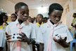 "Schoolchildren Receive Cameras for ""Eyes of Darfur"" Project 11.391328"